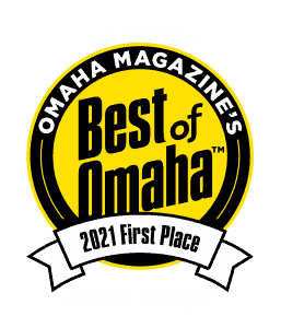 First place ribbon best of omaha